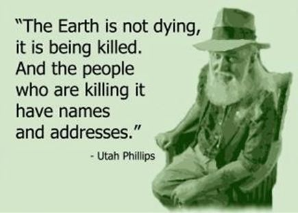 Earth killed by people
